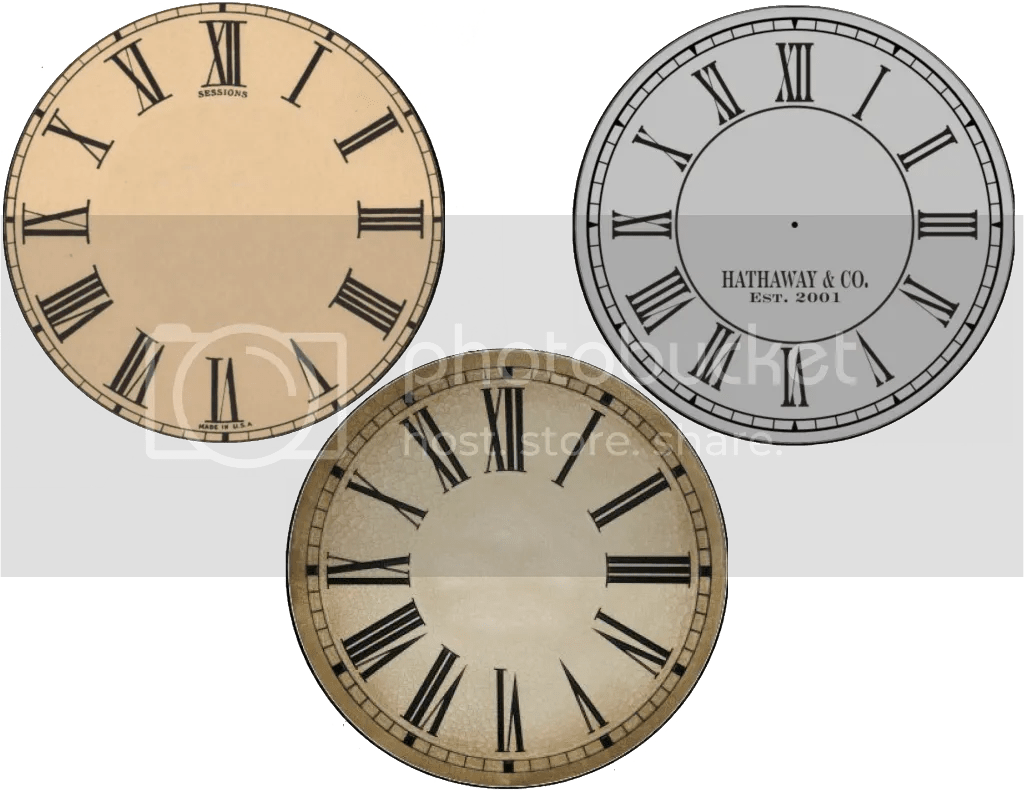 clock face templates for printing - new years free clock face printables cd size and plate
