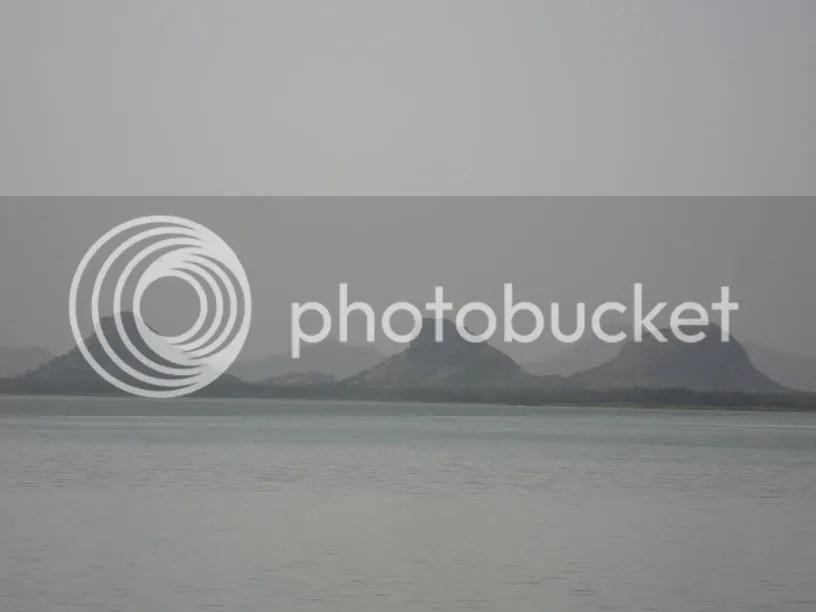 The 3 Musketeers - Krishnagiri Dam Reservoir View