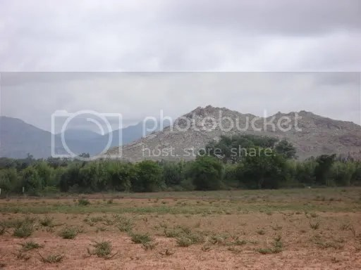Nandi hills from a distance