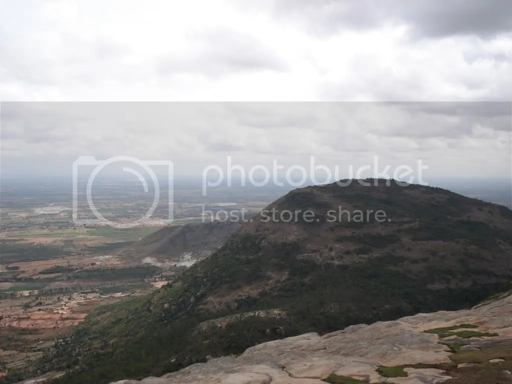 View from atop Nandi hills