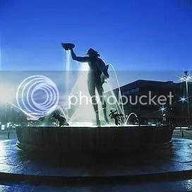 Statue Poseidon, Göteborg Sweden