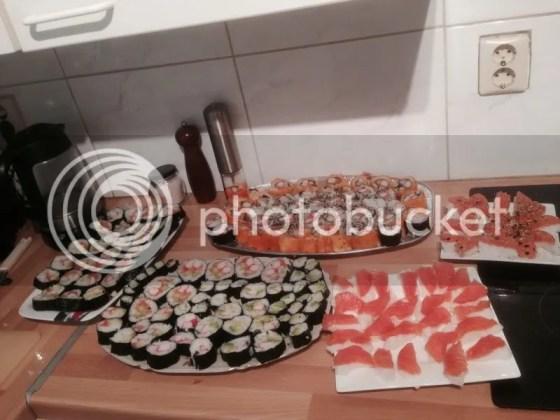 sushi made bij @roontjuh