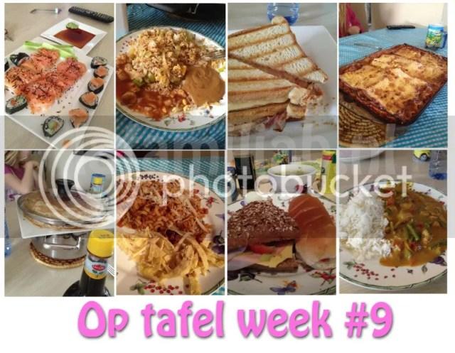 op tafel week #9