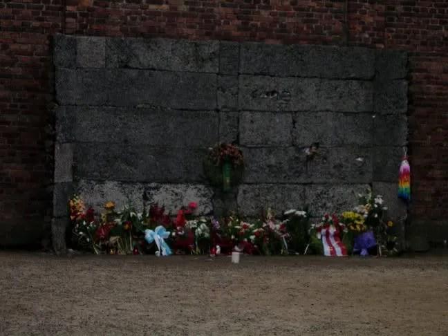 Memorial at Auschwitz 2009