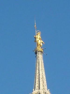 Golden Mary at Duomo