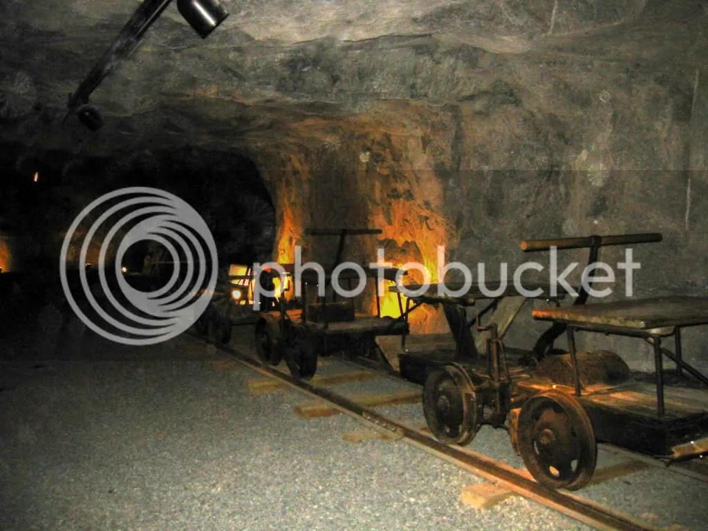 Acid Mining: 2002 pix Kongens Gruve silver mine in Kongsberg, Norway by Kjetil Bjørnsrud via Wikipedia