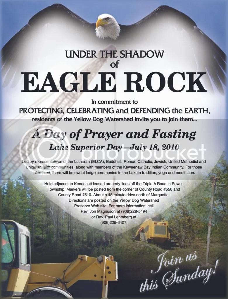 Eagle Rock,Kennecott Eagle Minerals