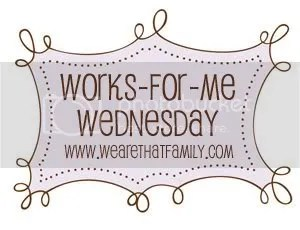 Works for Me Wednesday Banner