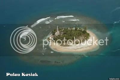 Pulau Kasiak Sumber Foto : www.google.com