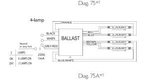 T5 Ballast Wiring Diagram  Somurich