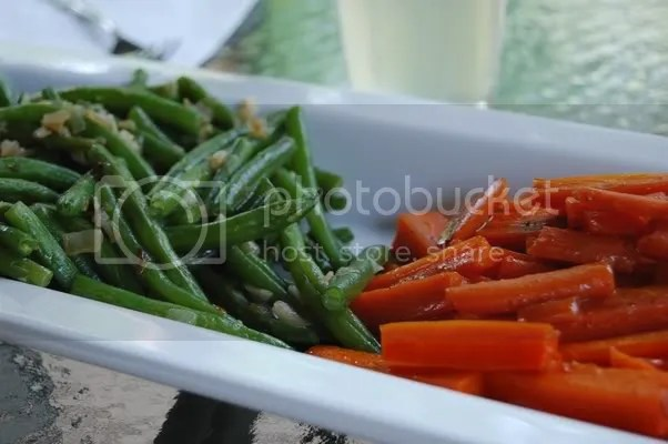 Green beans and carrots
