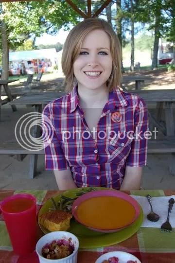 Enjoying the Pumpkin Patch Picnic!