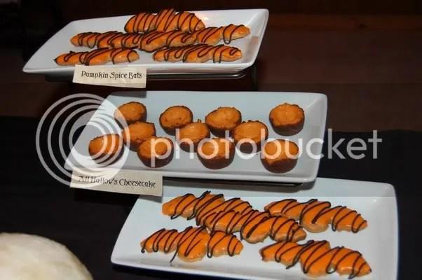 Pumpkin Spice Bats + All Hallows Cheesecake
