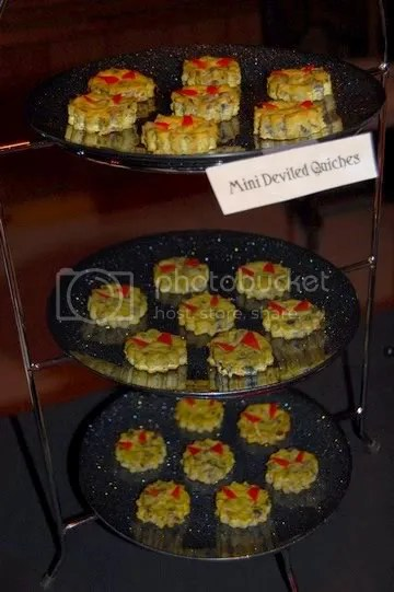 Mini Deviled Quiches