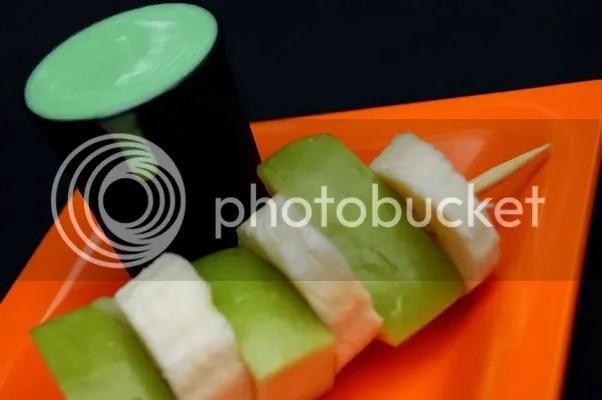 Green Swamp Slime & Fruit Kebobs