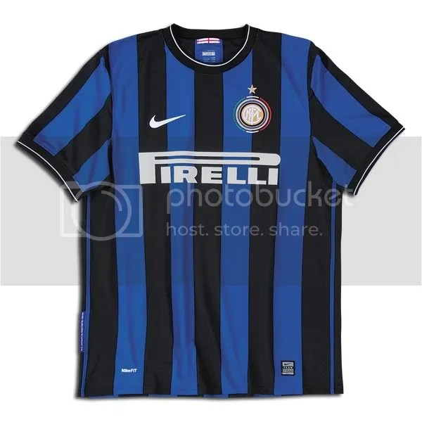 f8965bb2a Inter Milan Nike 2009 10 Home and Away Kits   Maglie - FOOTBALL ...