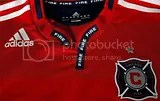 Chicago Fire adidas 2010 Home and Away Jerseys