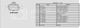 03 TJ 7 speaker system issues  JeepForum