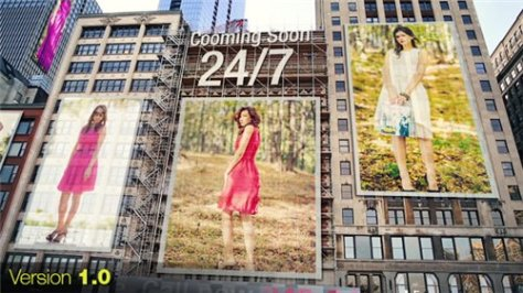 City - Ads on Buildings - After Effects Project (Videohive)