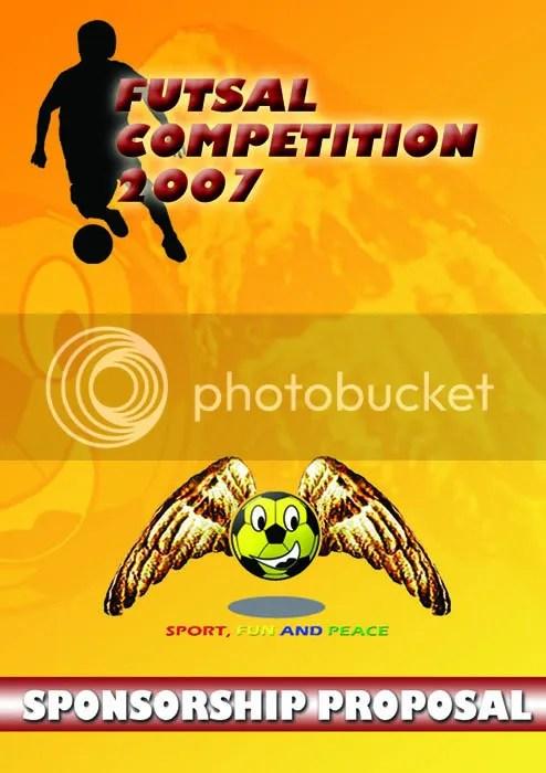 cover proposal futsal competition 2007 Pondok Kelapa