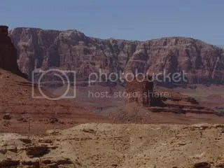 Vermillion Cliffs at Navajo Bridge