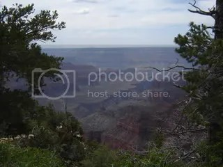 The view from Bright Angel Point trail