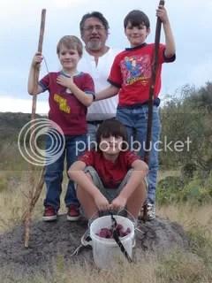 The guys & Grandpa Joe