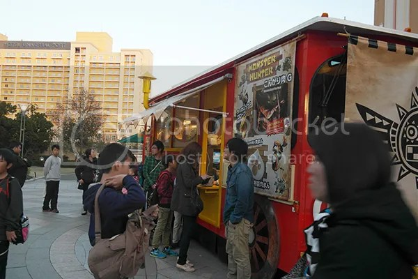 Monhunt food cart