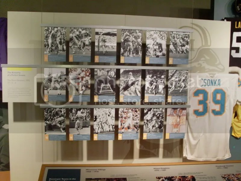 STILL THE ONE! THEE perfect season! 1972 Miami Dolphins!