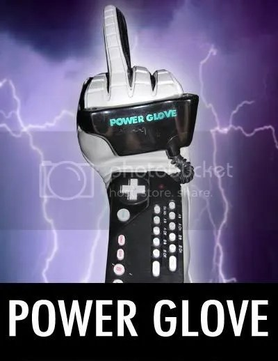 This is from AVGNs review of the Power Glove