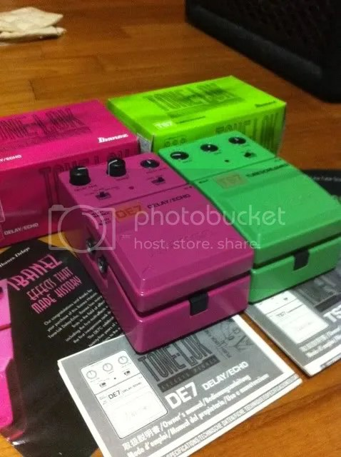 Sold Ibanez Special Edition Ts7 Amp De7 Pedals
