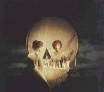 جمجمة او إمرأة