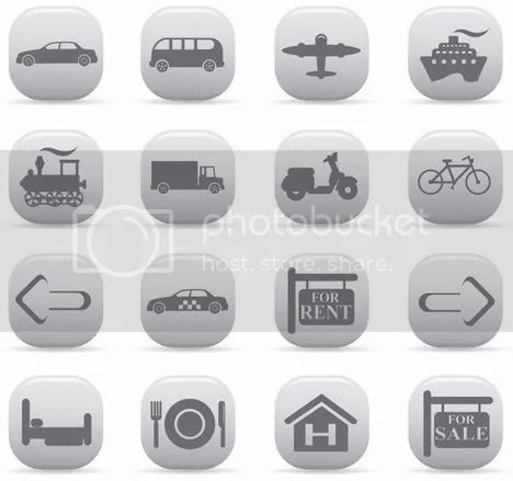 Free Vector Icons - Art VectorsTransportation & Travel Icons