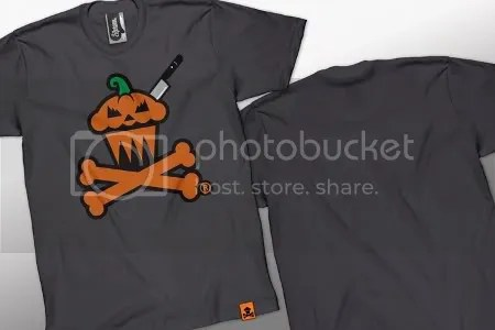 Johnny Cupcakes, pumpkin, Halloween, logo