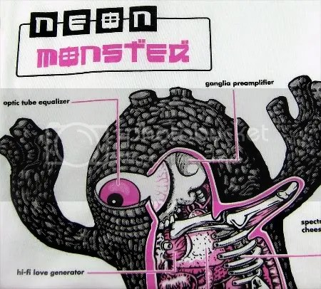 Kaiju, Neon Monster, vinyl, toy