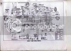 1985 wide glide wiring diagram | Harley Davidson Forums