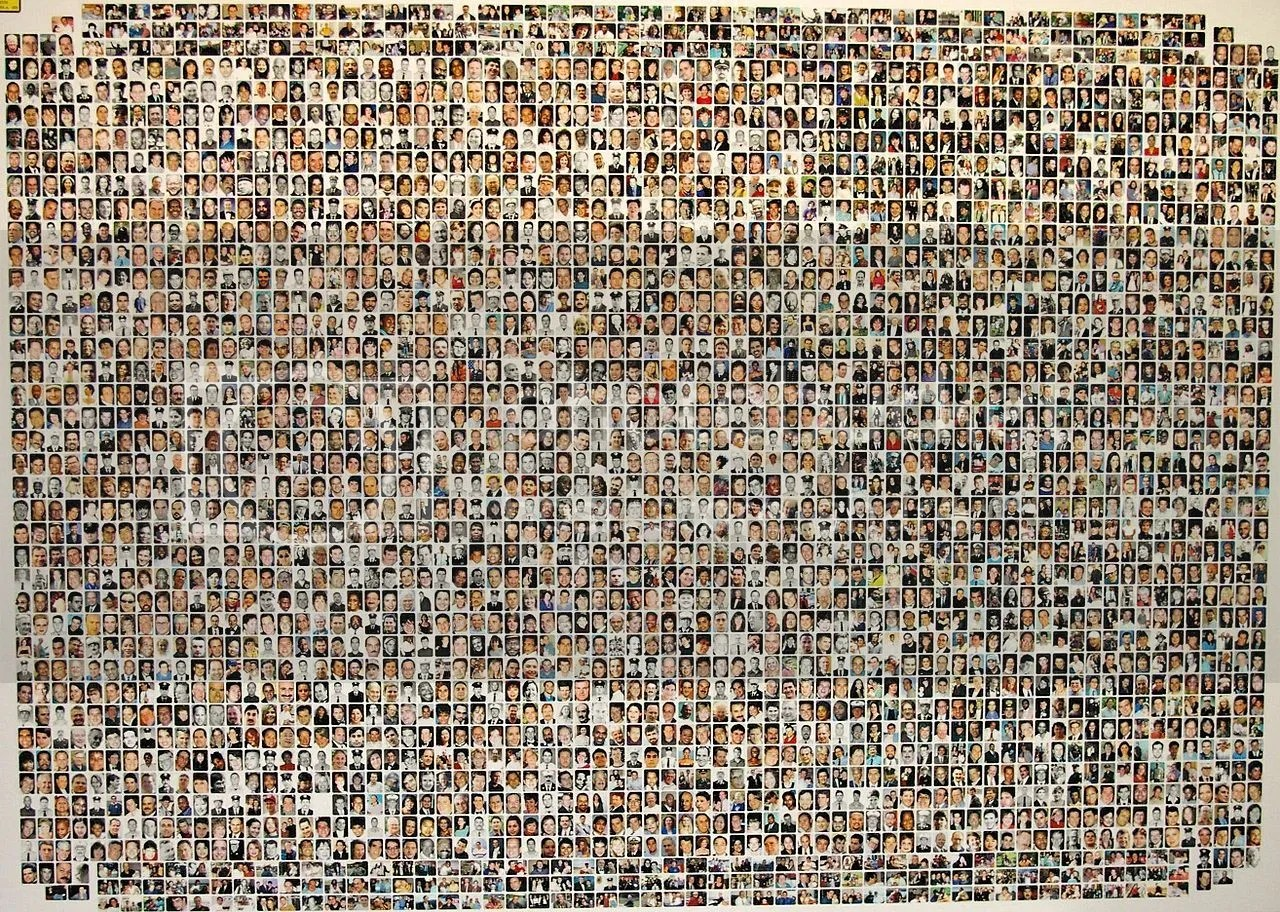 Almost all the 9/11 victims
