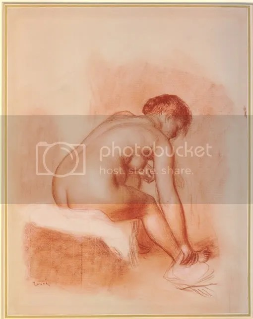 Renoir: Woman drying her foot (BM 1968,0210.23)