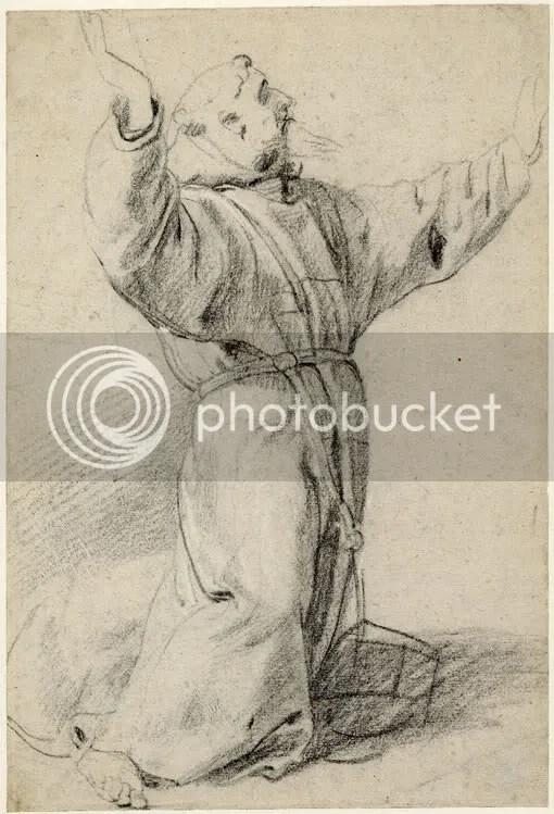 Rubens: St. Francis (BM Oo,9.27)
