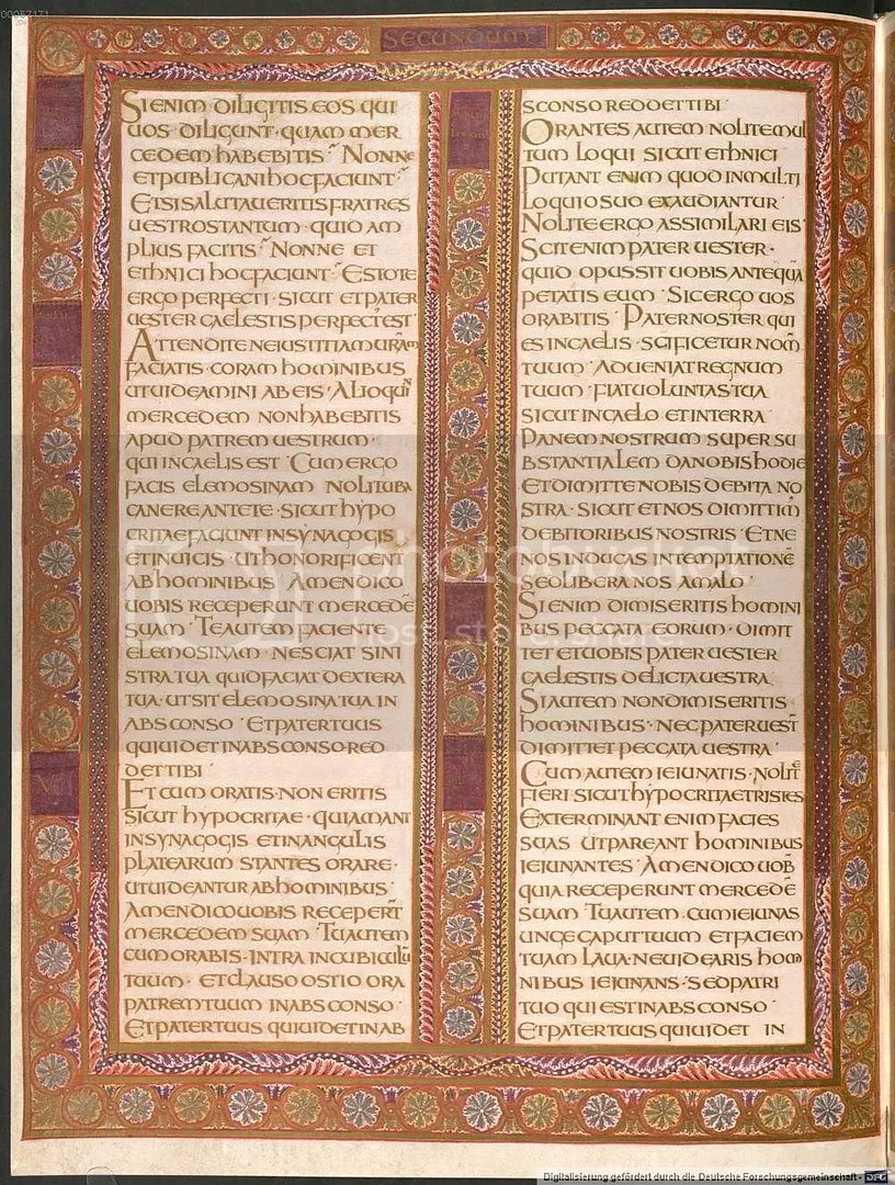 Codex Aureus p. 44