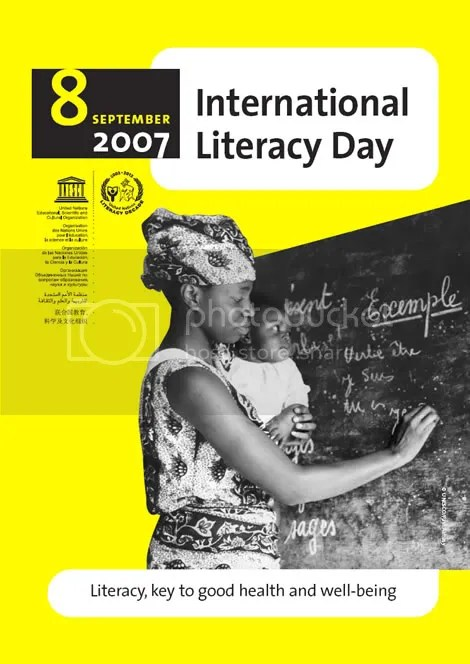 International Literacy Day 2007
