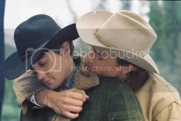 Jack and Ennis on Brokeback Mountain