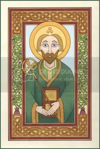 Saint Patrick by Lisa Laughy, Ninth Wave Designs