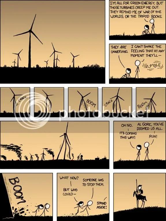 XKCD: Alternative Energey Revolution