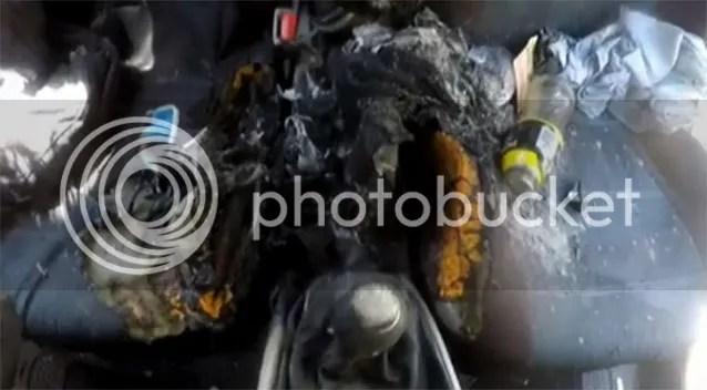 iPhone 7 terbakar
