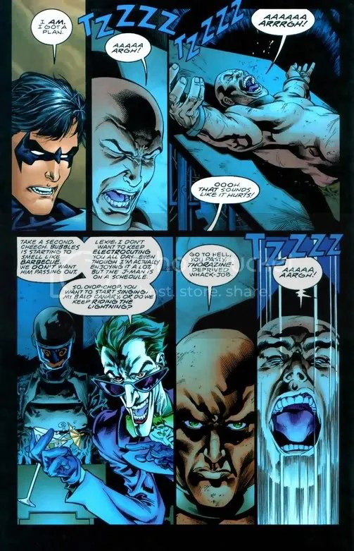 Image result for Joker tortures Lex