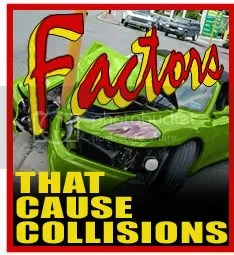 factors that contribute to collisions, from comedyguys.com defensive driving