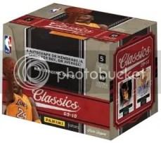 2009/10 Panini Classics Basketball Hobby Box