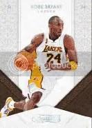 09/10 Panini Timeless Treasures Kobe Bryant Base Card