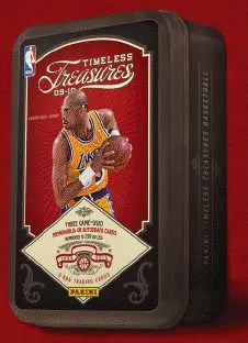 09/10 Panini Timeless Treasures Basketball Tin